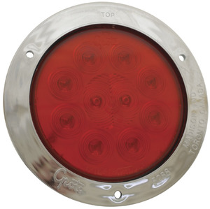 "53302 by GROTE - STT LAMP, 4"",RED,W/"